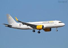 F-WWDJ Airbus A320 Neo Vueling (@Eurospot) Tags: ecnaf fwwdj airbus a320 neo vueling toulouse blagnac