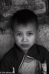 -c20180916-810_9668-2-2 (Erik Christensen242) Tags: sủnglà hàgiang vietnam vn child student boy bw monochrome face