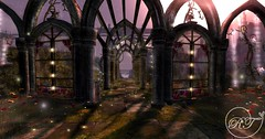 Waking Dream (Rose Thornberry) Tags: secondlife second life sl vr virtual reality photography edit magical fantasy exploring art landscape scenery whimsical sunset looking glass dreamy