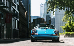 Wiesbaden. (misterokz) Tags: porsche 911 singer s rs t carrera wiesbaden frankfurt carspotting spotting supercar exotic classic car voiture blue photography automotive misterokz