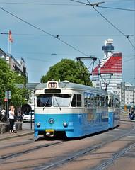 Göteborg, Nils Ericsonsgatan  07.06.2018 (The STB) Tags: spårvagn göteborgsspårvägar tram tramway strassenbahn strasenbahn publictransport citytransport öpnv kollektivtrafik