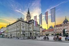 Gradska kuca Novi Sad (AleksandarM021) Tags: novisad center centar vojvodina vojvodjanski vinarija serbia serbiaandmontenegro srbija serbianculture street sky europe exit epk2021 europeanculture european