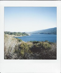 Crystal Springs (SalvagedStitch) Tags: crystal springs reservior instax square instaxsq6
