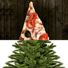Sappizza Firzza (Charlotte P.Denoel) Tags: nature food contemporaryart fineart conceptart collage digitalart art fir sapin pizza
