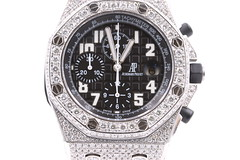 IMG_9835 (Forever Faithful Diamonds) Tags: mens watch luxury lifestyle fashion diamonds icedout royaloak offshore ap audemars piguet watches collector jewelry custom