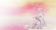BA - Birdie (~ ℬoudicca ~) Tags: ©2018boudiccaamatallrightsreserved secondlife secondlifeavatar avatar virtualworld digitalart 3d digital windlight blackdragon maitreya lelutka female fantasy mesh ballgown anc curemore lode redmint roses