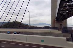 Hong Kong 20180223_111741 DSCN3627 (CanadaGood) Tags: asia china hongkong highway bus bridge mountain traffic sea southchinasea canadagood 2018 thisdecade color colour white