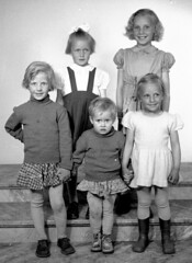 The group (theirhistory) Tags: child kid girl dress skirt shoes wellies boots jumper