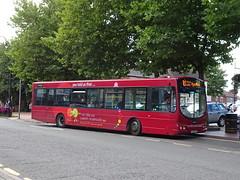trent barton 677 Ripley (Guy Arab UF) Tags: trent barton 677 fj55aax scania l94ub wright solar bus ripley market place derbyshire wellglade buses wellgladegroup