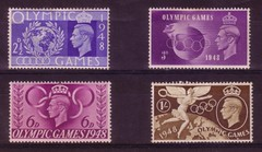 BRITISH OLYMPIC GAMES - 1948 (old school paul) Tags: postage stamps britain british olympicgames 1948