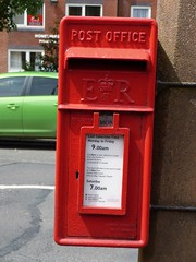 FY8 117 - Fairhaven, Starr Hills, Ansdell Road South 180623 (maljoe) Tags: postbox postboxes fy8 eiir royalmail