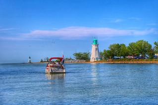 St Catherines Ontario ~ Canada ~ Port Dalhousie Pier Marina ~ Landmark