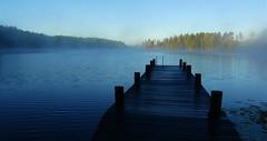 P1120596a (SeppoU) Tags: suomi finland lohja nummi järvi lake aamu morning utu mist syyskuu september 2018 lumix