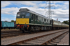 No D5185 9th Sept 2018 Great Central Railway Diesel Gala (Ian Sharman 1963) Tags: no d5185 9th sept 2018 great central railway diesel gala class 25 rat station engine rail railways train trains loco locomotive passenger heritage line gcr leicester north rothley brook swithland loughborough quorn woodhouse
