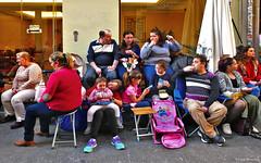Spain: Granada, Semana Santa spectators (Henk Binnendijk) Tags: españa spain spanje granada andalucia andalucía andalusia people candid semanasanta holyweek street procession