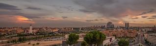 Panorama de Madrid.