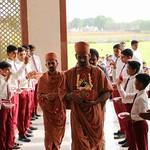 4-Welcoming Swamiji