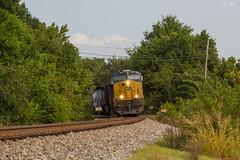 CSX Q580 at North Cartersville (travisnewman100) Tags: csx train railroad freight rr manifest ge es44ah locomotive wa subdivision atlanta division cartersville q580