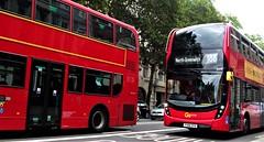 London Central EH79 on route 188 Strand 27/08/18. (Ledlon89) Tags: bus buses london tfl transport transportforlondon londonbuses londonbus londontransport