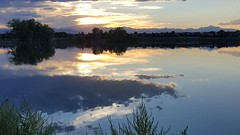 August 29, 2018 - Reflections on McKay Lake. (David Canfield)