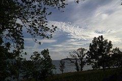 View from Halsnøy Kloster (magneroed) Tags: halsnøy kloster monastery norway sky himmel clouds skyer tree water