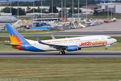 G-JZHN - 2016 build Boeing B737-800, departing from Runway 15 at Birmingham (egcc) Tags: 6161 63146 b737 b737800 b737ng bhx birmingham boeing egbb exs elmdon gjzhn jet2 jet2holidays ls lightroom packageholidaysyoucantrust