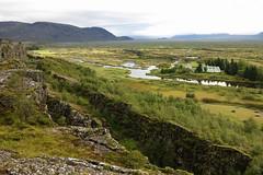 Iceland, Thingvellir (tweedy35) Tags: europe iceland canon thingvellir nationalpark rivers riftvalley landscape canong1x streams water