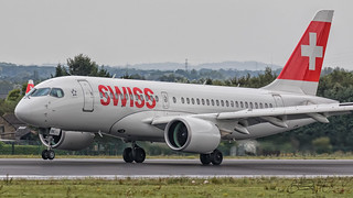 Swiss Global Air Lines Bombardier CS-100 BD-500-1A10 HB-JBE
