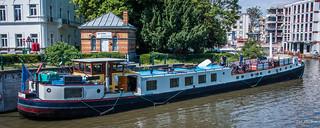 2018 - Belgium - Gent - Bicycle Tour Boat