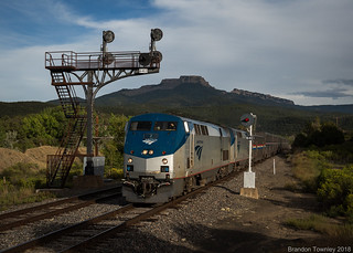 Amtrak in Jansen, CO