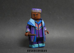 Custom Lego Kingsley Shacklebolt (Brickophilia) Tags: custom lego minifigure harry potter kingsley shacklebolt order phoenix