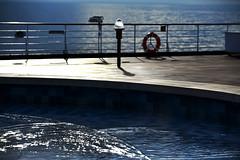 Deck Swimming Pool (Anthony Mark Images) Tags: swimmingpool deckpool evening bluehour ocean sea water atsea cruiseship hollandamericalines mseurodam alaska usa 49thstte ripples sparkles nikon d850