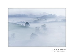 Valley fog (mcb photography) Tags: tree mist hill morning ethereal fog countryside wales snowdon snowdonia wwwmcbphotographycouk mikebarber mcbphotography