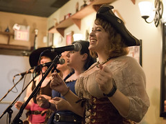 Misbehavin' Maidens at the Limerick Pub (dckellyphoto) Tags: band pirate music musicians bar perform women female group misbehavinmaidens maryland md performance singing singer sing troupe concert eoshe