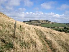 Coastal Path with WWI reminder (Bob Radlinski) Tags: abbotsbury dorset england europe greatbritain uk travel