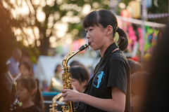 wind orchestra girl #3 (kasa51) Tags: portrait ブラバン少女 windorchestra schoolgirl summerfestival people street