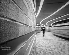 I am human (Mister Blur) Tags: réso montréal québec canada underground walking promenade human depthoffield dof bokeh blackandwhite bw blancoynegro iphone iphoneography snapseed rubén rodrigo fotografía happy monochrome monday