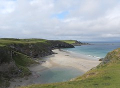 Sango Sands(West) from Viewpoint, Durness, North West Sutherland, Aug 2018 (allanmaciver) Tags: sango sands north west sutherland scotland sand sea height coast clouds weather allanmaciver