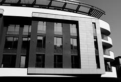 DSCF0793b_jnowak64 (jnowak64) Tags: poland polska malopolska cracow krakow krakoff zwierzyniec architektura willa lato mik bw