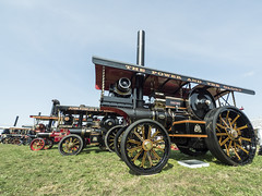 great dorset steam fair (mikejsutton) Tags: great dorset steam fair 2018 500 50 mike sutton traction tractor engines engine road roller lorry lorries locomotive showman truck ford foden haulage blue circle fairground funfair threshing