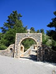 Monastery of Panagia Ipseni, Rhodes (pefkosmad) Tags: lardos monastery convent nuns building religion greekorthodoxchurch greekorthodox greece rhodes rodos holiday vacation vacances reisen ipseni christianity