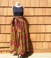 Wax Print Maxi Skirts