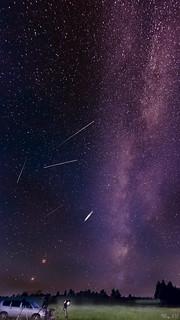The flights over the mist near the Milky Way / Полёты над туманом у Млечного пути