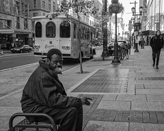 Market Street, 2017 (Alan Barr) Tags: philadelphia 2017 street sp streetphotography streetphoto marketstreet marketstreeteast marketeast blackandwhite bw blackwhite mono monochrome candid city people panasonic lumix gx85