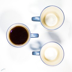 Dissonance (Ter lines) Tags: tea breackfast macro mug blacktea 50mm photography art symmetry canon📷 studio artisticphotography full empty contrast three aesthetic aesthetics