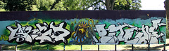 graffiti in Haarlem (wojofoto) Tags: haarlem nederland netherland holland graffiti streetart wojofoto wolfgangjosten hetlandje hof argo