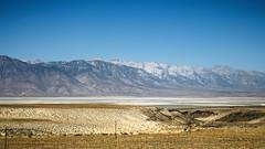 South Shore of Owens Lake (wyojones) Tags: california southshore owenslake owensvalley sierranevadamountains inyocounty mtwhitney horseshoemeadowroad mountlangley cottonwoodcreek cirquepeak desert drylake water salt