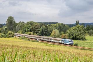 06 septembre 2018  BB 67446 Train 2022 Boulogne -> Paris Fontaine-sur-Somme (80)