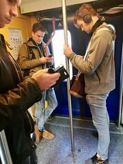Mobile phone (Michiel2005) Tags: train trein mobilephone handy mobiel spoorwegen ns nederland netherlands holland