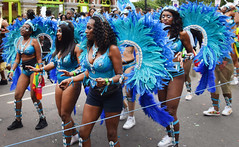 DSC_8158a Notting Hill Caribbean Carnival London Exotic Colourful Costume Girls Dancing Showgirl Performers Aug 27 2018 Stunning Ladies (photographer695) Tags: notting hill caribbean carnival london exotic colourful costume girls dancing showgirl performers aug 27 2018 stunning ladies